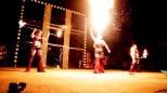 Michelle's amazing fire breath