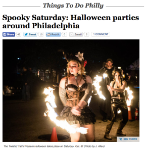 We're the top photo for Philly.com's Halloween picks!