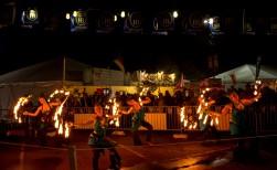 five FD dancers